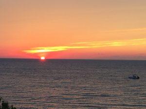 sunset on Nantucket